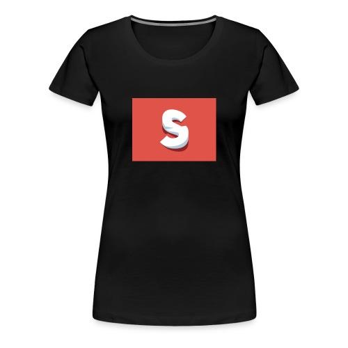s red - Women's Premium T-Shirt