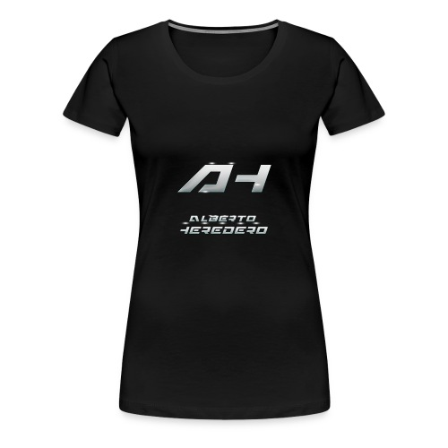 Logo White Style - Women's Premium T-Shirt