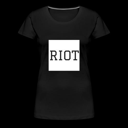 Riot Tee - Women's Premium T-Shirt