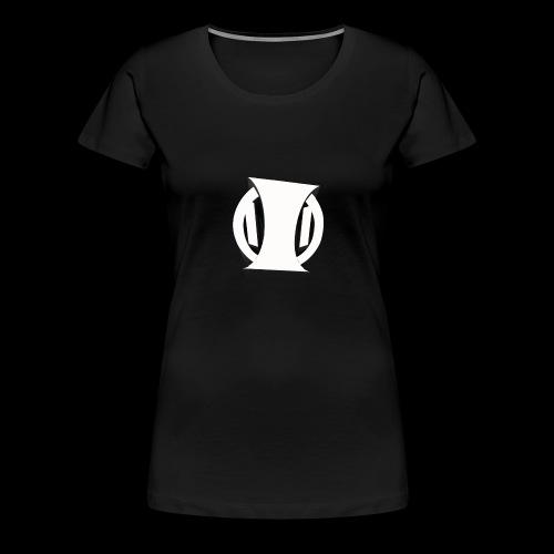 White Identity Logo - Women's Premium T-Shirt