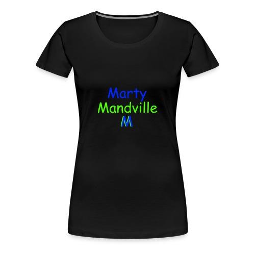 Marty Mandville - Women's Premium T-Shirt