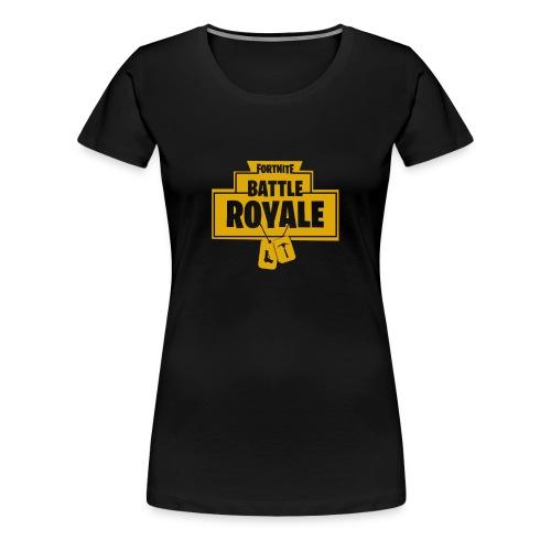 Battle Royale game - Women's Premium T-Shirt