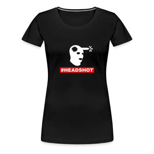 Headshot Airsoft sniper - Women's Premium T-Shirt
