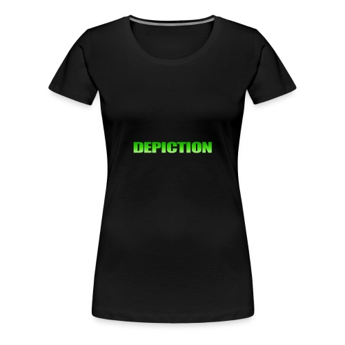 Depiction Impact [GREEN] - Women's Premium T-Shirt