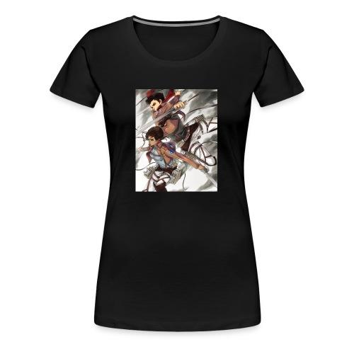 Ashbash14 channel art - Women's Premium T-Shirt