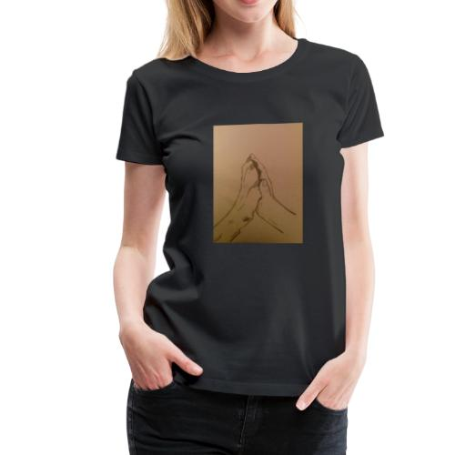 Wolf Kid - Women's Premium T-Shirt