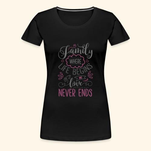 FAMILY` - Women's Premium T-Shirt