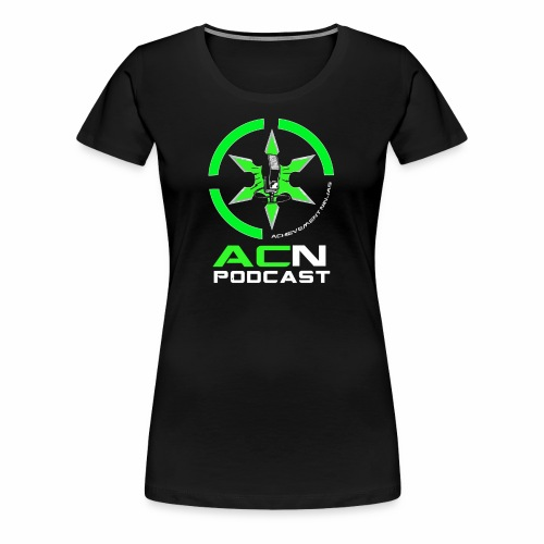ACN Podcast Logo - Women's Premium T-Shirt