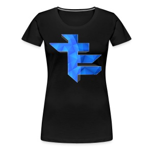 Simple LightningTE Logo - Women's Premium T-Shirt