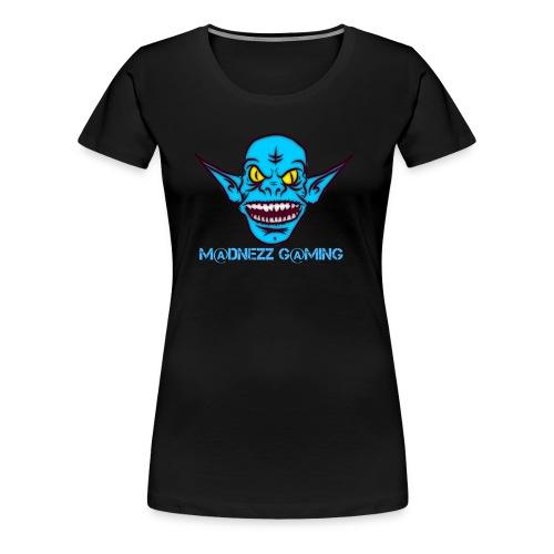 Madnezz Gaming Logo - Women's Premium T-Shirt