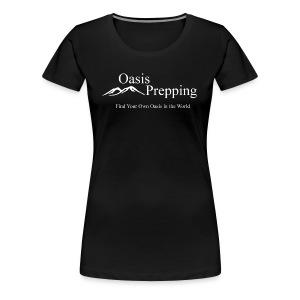 Oasis Prepping Logo - Women's Premium T-Shirt