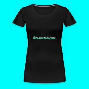 GoryGaming Design With Logo - Women's Premium T-Shirt