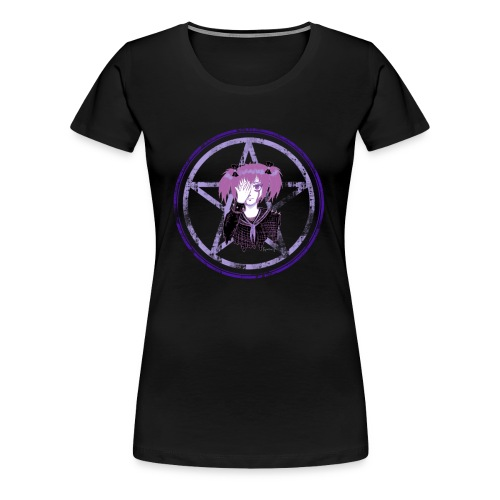 Kawaii Pastel Goth School girl - Women's Premium T-Shirt