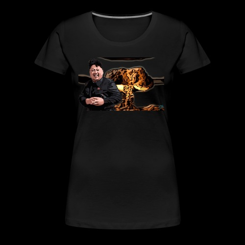 Crazy Kim exploded - Women's Premium T-Shirt