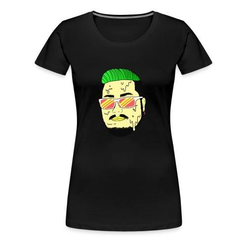 Monster Infested Face - Women's Premium T-Shirt
