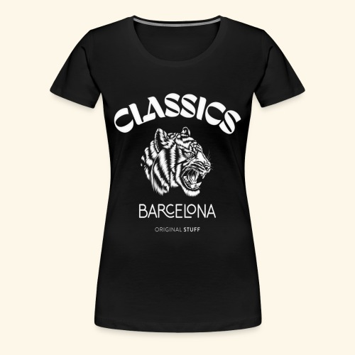 tiger classic barcelona original stuff - Women's Premium T-Shirt