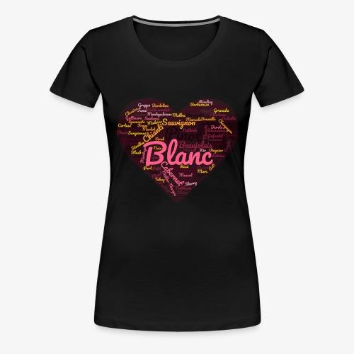 Wine Cloud for Wine Lovers - Women's Premium T-Shirt