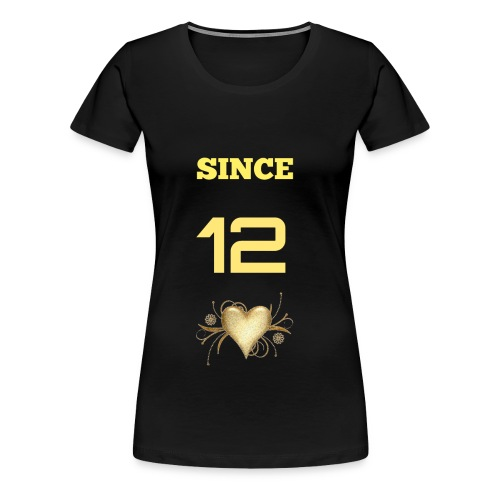 TOGETHER SINCE (FEMALE) - Women's Premium T-Shirt