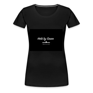 held by grace - Women's Premium T-Shirt