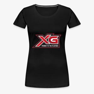 xg slogan - Women's Premium T-Shirt