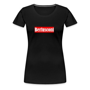Berlusconi Supreme Logo - Women's Premium T-Shirt