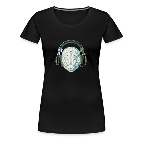 Mind Music Connection - Women's Premium T-Shirt