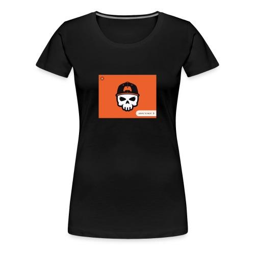 Bronson B gaming - Women's Premium T-Shirt