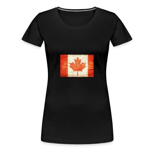 Canada flag - Women's Premium T-Shirt