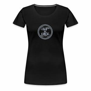 1St OutLogo Silver copy - Women's Premium T-Shirt