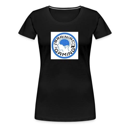 Brainiac Gaming Design - Women's Premium T-Shirt
