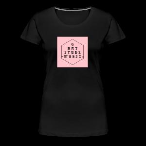 Gratitude Music Hex - Women's Premium T-Shirt