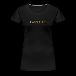 Marcheurs Gold - Women's Premium T-Shirt