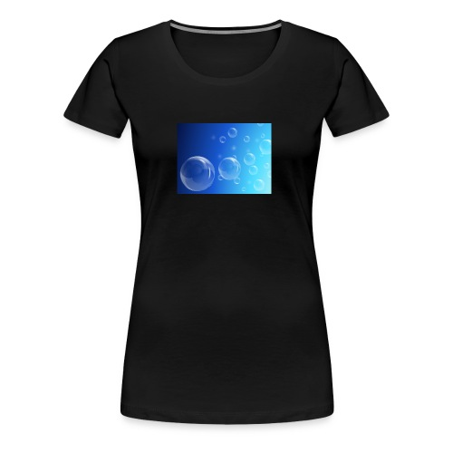 Bubbles - Women's Premium T-Shirt