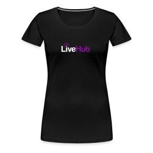 Official LiveHub™ Logo - Women's Premium T-Shirt