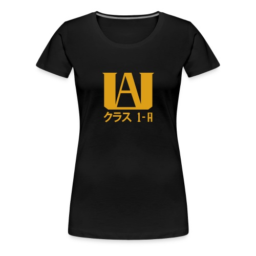 ua my hero academia - Women's Premium T-Shirt