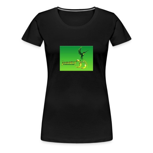 Jamaica 50 bird t shirt - Women's Premium T-Shirt