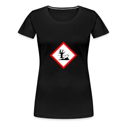 danger for the environment - Women's Premium T-Shirt
