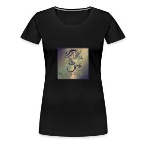 Furious Dragon - Women's Premium T-Shirt