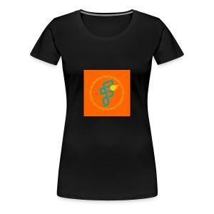 Furious Dragon logo - Women's Premium T-Shirt