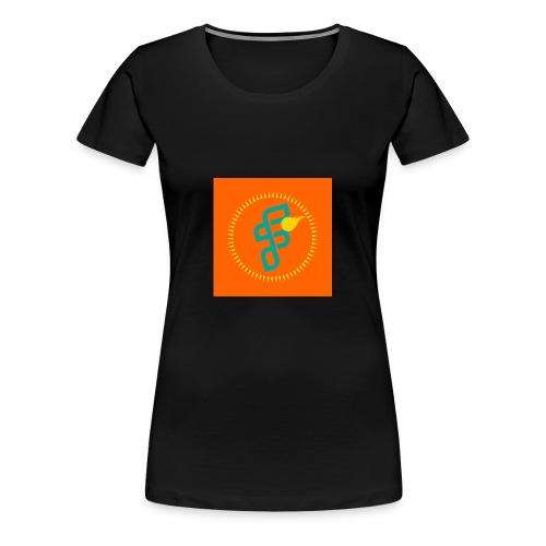 Furious Dragon logo - Women's Premium T-Shirt