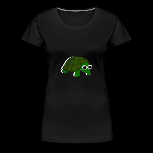 Clout Turtle - Women's Premium T-Shirt