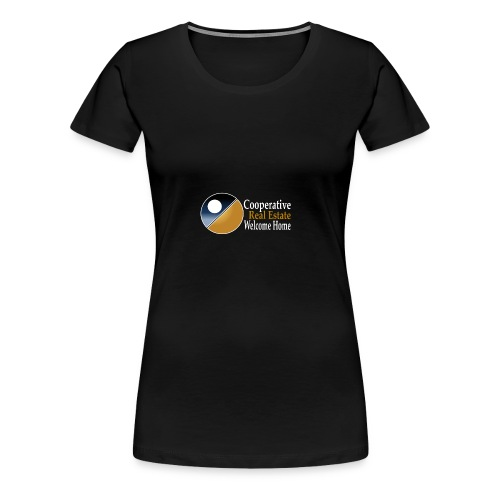 00044_Logo_horizontal_for_dark_backgrounds_-1- - Women's Premium T-Shirt