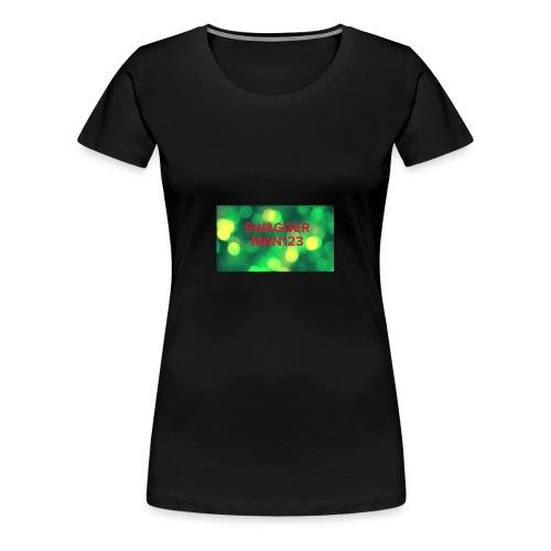 Swagger man123 - Women's Premium T-Shirt