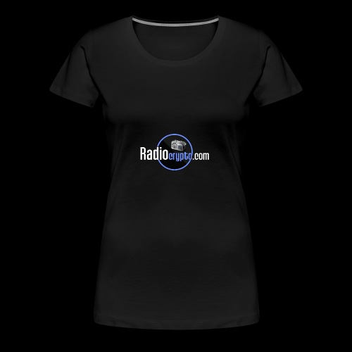 RadioCrypto Logo 1 - Women's Premium T-Shirt