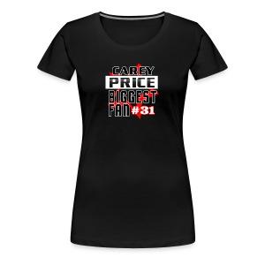 careyprice 1fan - T-shirt premium pour femmes