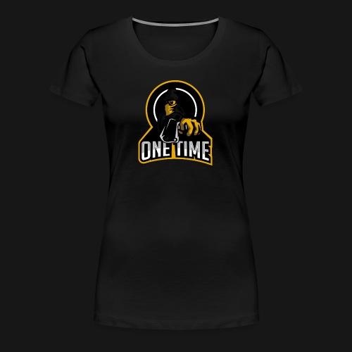 OneTime Gaming Logo - Women's Premium T-Shirt