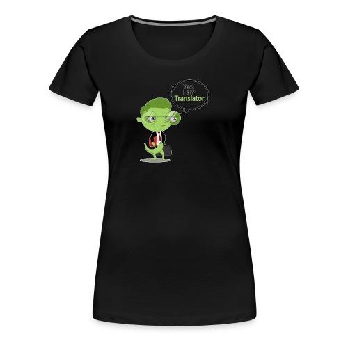 Translator Chameleon - Women's Premium T-Shirt