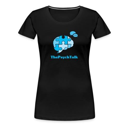 ThePsychTalk Brain - Women's Premium T-Shirt