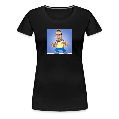 Caricatura Rainer - Women's Premium T-Shirt