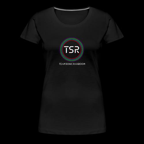 Team Sonic Rainboom Logo + Name - Women's Premium T-Shirt